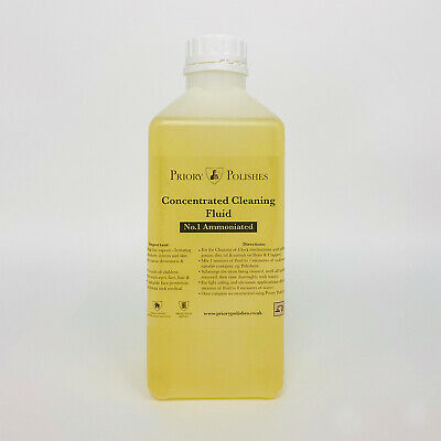 Special Offer:  Clock Cleaning Concentrate No 1  (1 Litre ) Free Clock Oil