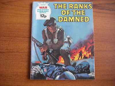 WAR PICTURE LIBRARY  - No. 1405 - THE RANKS OF THE DAMNED - 1977
