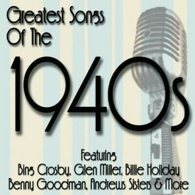 Various Artists - Greatest Songs of the 1940's / Various [New CD]