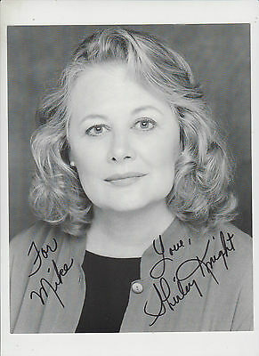 Shirley Knight Lot of 2 different signed photograph original with COA