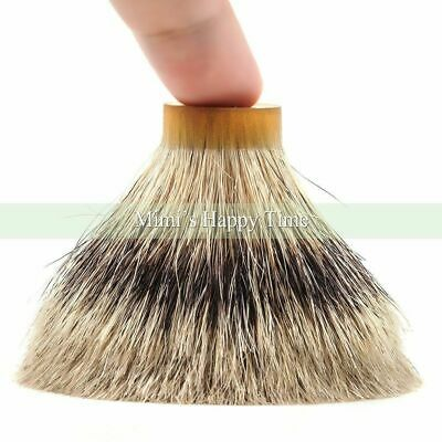 100% Silvertip Badger Shaving beard Hair Brush Knot - 21/64MM for 22mm handle