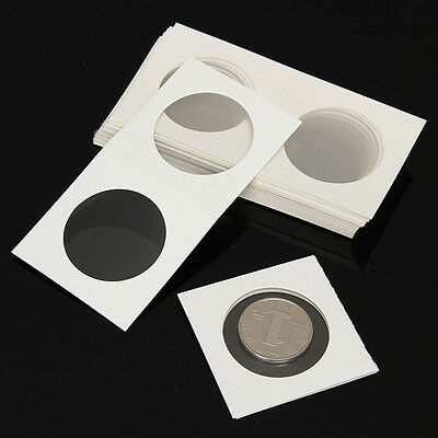 50pcs 40mm Stamp Coin Holders Cover Case Storage