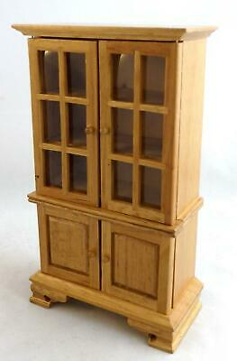 Melody Jane Dolls House Miniature 1:12 Scale Furniture Light Oak Dresser Cabinet