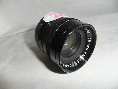 Projector lens cine ZOOM CROWN F:1:8, 12-32MM thread 30mm  21
