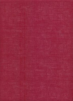32 count Zweigart Belfast Linen Cross Stitch Fabric FQ 9060 Burgundy 49x69 cm