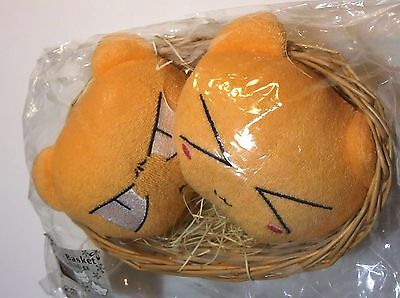 Fruits Basket head plush doll set Figure hands rest official anime Authentic