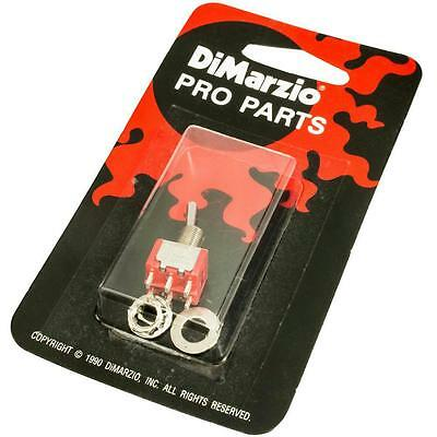 DiMarzio EP1106 2-Position Mini-Switch for Guitar, DPDT On/On