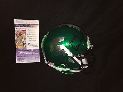 Mark Dantonio Signed Michigan State Spartans Mini Helmet Jsa Authenticated
