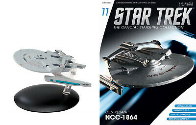 STAR TREK Official Starships Magazine #11 USS RELIANT Eaglemoss