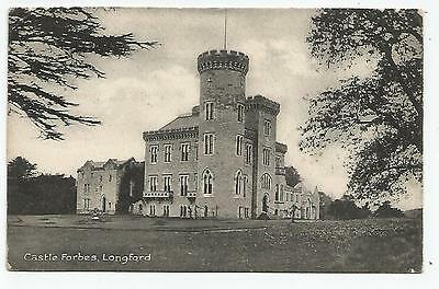 irish postcard ireland longford castle forbes