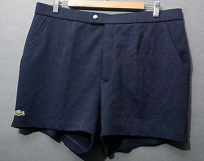 Lacoste Pantaloncino  Shorts Tennis 80's Casual Vintage Tg 48  A721