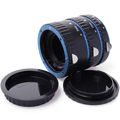 AF Macro Extension Tube Ring Set For Canon EOS EF 7D 550D 650D 1100D 1200D DC466