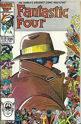 Fantastic Four #296 (Double-Sized) (Marvel) Nm-