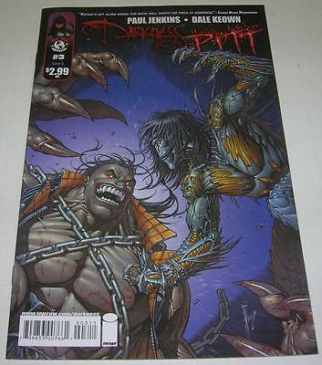 THE DARKNESS / PITT #3 COVER A (Image / Top Cow 2009) Dale Keown art (VF)