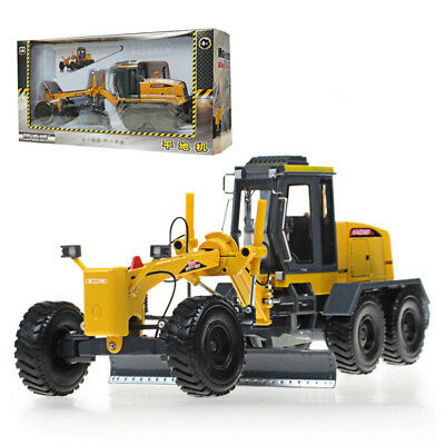KDW 1:35 Scale Diecast Motor Grader Truck Construction Vehicle Cars Model Toys