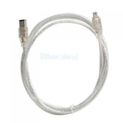 IEEE 1394 FireWire DV Cable Kabel 4 Pin to 6 pin M/M Stecker