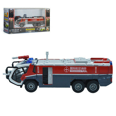 KDW 1:50 O Scale Diecast Airfield Water Cannon Fire Truck Cars Model Toys NEW
