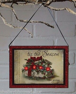Radiance Lighted Christmas Ornament The Legend of Holly x47076 NEW