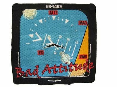 USAF Tennessee Air Guard Force 134th KC-135 Refueler Bad Attitude Nose Art Patch