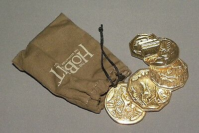 The Hobbit: Desolation of Smaug's Treasure Gold Coin Purse Pouch Prop Replica