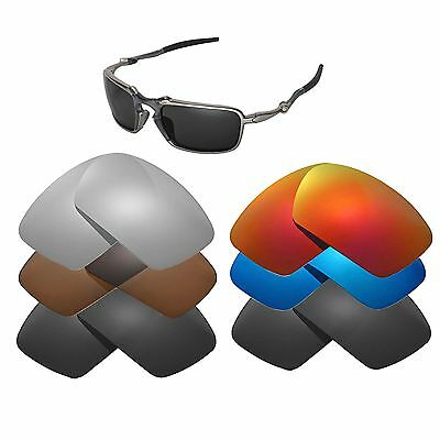 5ffe6e87e4 Walleva Replacement Lenses for Oakley Badman Sunglasses - Multiple Options
