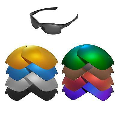 Walleva Replacement Lenses for Oakley Commit SQ Sunglasses - Multiple Options