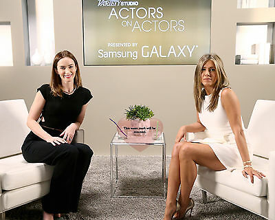 Jennifer Aniston, Emily Blunt at Variety Studio 8X10 GLOSSY PHOTO PICTURE ja75