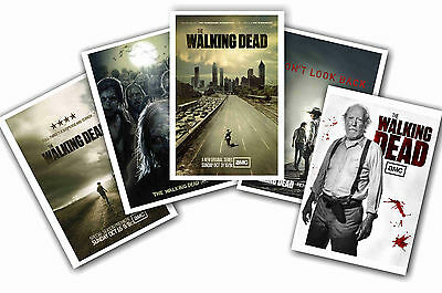 The Walking Dead - Set Of 5 - A4 Poster Prints # 1
