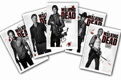 The Walking Dead - Set Of 5 - A4 Poster Prints # 3