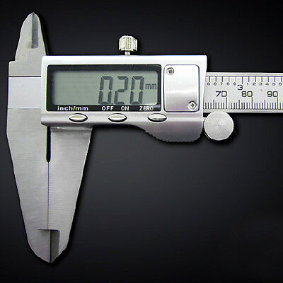 Superb 150Mm/300Mm Electronic Digital Vernier Caliper Stainless Lcd Gauge+Case