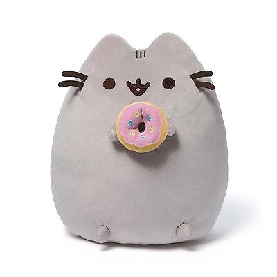 Gund 4048871 Pusheen the Grey Cat with Donut