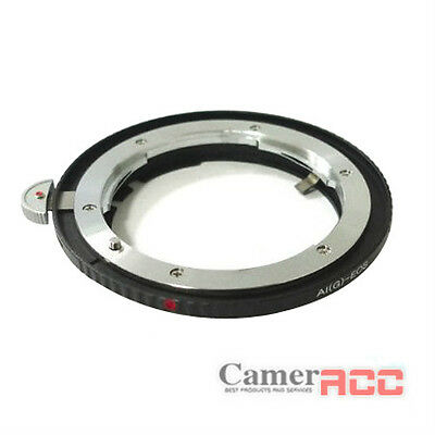 AF Confirm Auto Focus Mount Adapter Ring FOR nikon f Lens to canon eos ef / ef-s