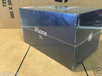 Rare Vintage Collectors Apple iPhone 3G 16Gb New Factory Sealed Unlocked A1241
