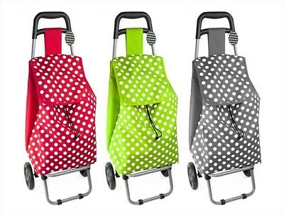 Funky Folding Shopping Trolley Luggage Bag With Wheels Essential for Festivals