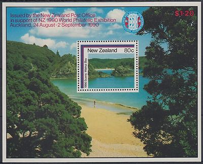 New Zealand 1986 ** Bl.8 Landschaften Landscapes [sq6865]