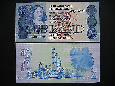 SOUTH AFRICA  2 Rand 1983-90  (P118d)  UNC