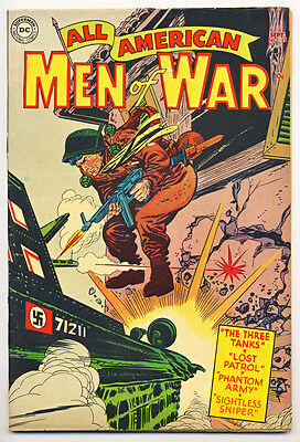 ALL AMERICAN MEN OF WAR #13 VG, DC Comics 1954