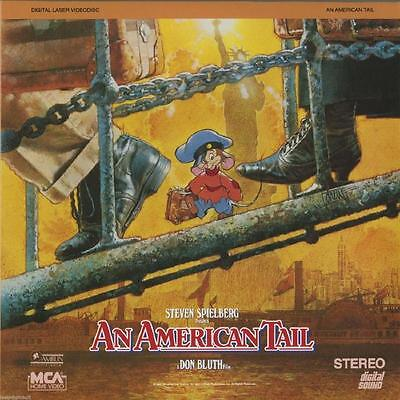 An American Tail ~ Laserdisc ~ Free Us Shipping ~ Stephen Speilberg ~ Don Bluth