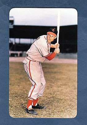 STAN MUSIAL, Cardinals ~ Baseball Hall of Fame flash-pack card (1995 Fax Pax) NM