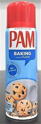Pam Happy Baking Non Stick Cooking Spray with Flour 5 oz