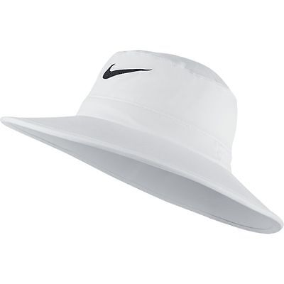 NEW Nike Sun Bucket Hat White/Black Fitted S/M Fitted Hat/Cap