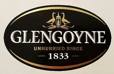 Glengoyne scotch whisky sticker.