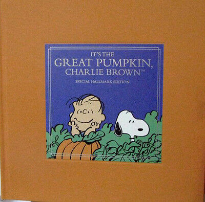 Hallmark The Great Pumpkin Charlie Brown Halloween Book - Peanuts Gang - BOK6124
