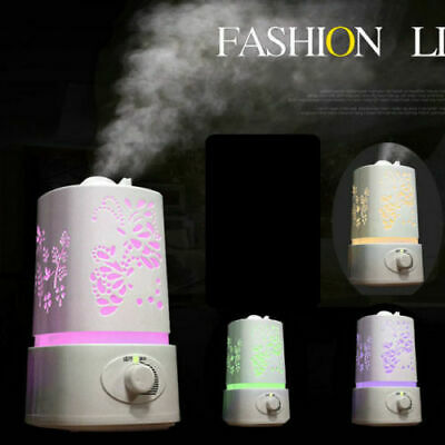 1.5L LED Ultrasonic Home Aroma Humidifier Air Diffuser Purifier Lonizer Atomizer