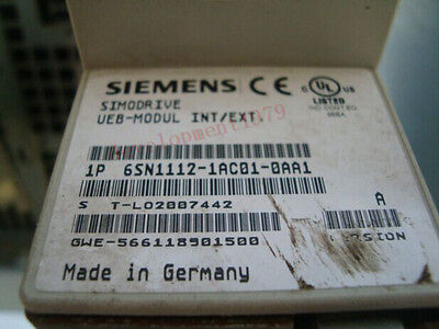 Used Siemens 6SN1112-1AC01-0AA1 MONITORING MODULE Tested