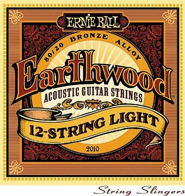 Ernie Ball 2010 Earthwood 80/20 12-String Acoustic strings 9-46