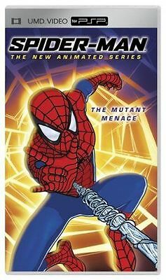 Spider-Man THE NEW ANIMATED SERIES THE MUTANT MENACE UMD PSP C SONY PORTABLE