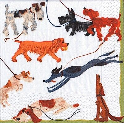 Dogs Best in Show luxury paper table napkins serviettes 20 in pack