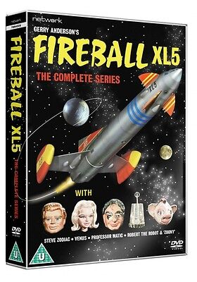 Fireball XL5: The Complete Series - DVD NEW & SEALED (6 Discs) - Gerry Anderson
