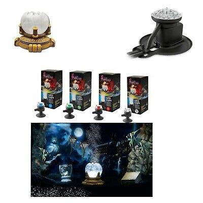Underwater Aquarium Magic Globe + White Led  & Air Bubble Maker Complete Kit